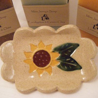 sunflower soap dish 1