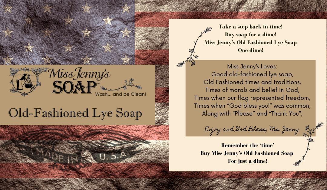 Old-Fashion Lye Soap